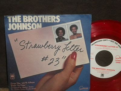 the brothers johnson strawberry letter 23 roots vinyl guide 25143