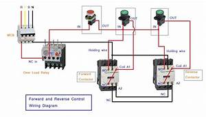 Motor Control Schematic Diagram Forward Reverse