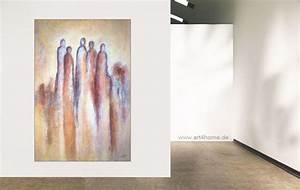 Bilder Kaufen Günstig : gruppengestaltung acrylmischtechnik leinwand 150 100 cm original 840 euro art4berlin ~ Buech-reservation.com Haus und Dekorationen