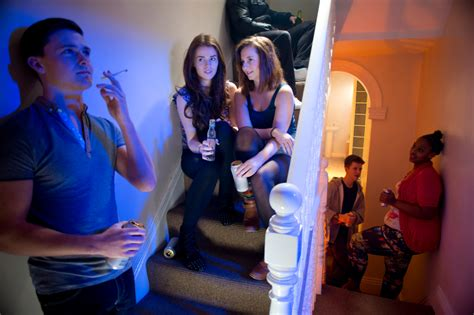 Teen House Drinking Party