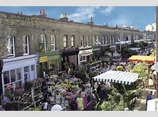 Columbia Road Flower Market Shopping in Bethnal Green