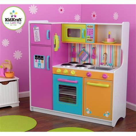 deluxe cuisine cuisine enfant deluxe big and bright kidkraft achat