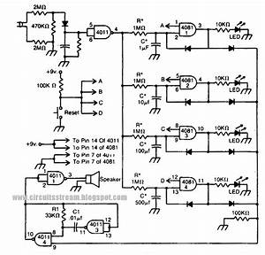 Simple Power Failure Detector Circuit Diagram
