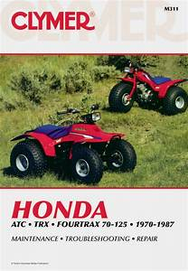 Honda Atc Series Fourtrax Atv  1970