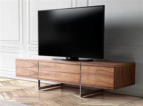 meuble tv en noyer plaqu 233 mobilier design cerd 225