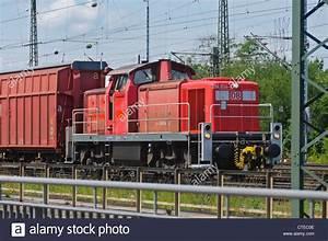 German Diesel Locomotive DB Class 294 834-7 logistics ...