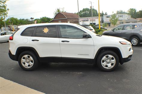 suv jeep white 2014 jeep cherokee white 4x4 sport used suv sale