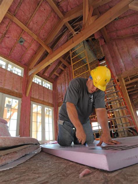 tips  installing insulation  drywall diy