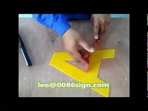 acrylic bender 3d led channel letters sign perspex hot With how to make acrylic channel letters