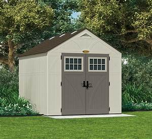 suncast 8x10 tremont three plastic shed greenhouse stores With 8x10 barn shed