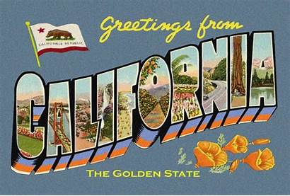 Postcard California 4x6 Greetings