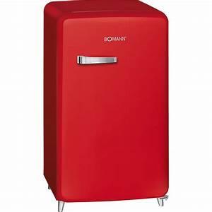 Retro Kühlschrank A : bomann a retro k hlschrank mit 121 liter in rot real ~ Orissabook.com Haus und Dekorationen