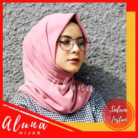 promo jilbab instan siria series slup crepe high quality antem tammia rempel depan praktis