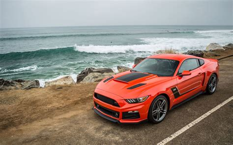 2015 Roush Performance Ford Mustang Wallpaper