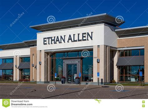 ethan allen furniture store editorial image image