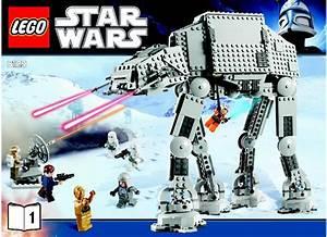 LEGO AT-AT Walker Instructions 8129, Star Wars