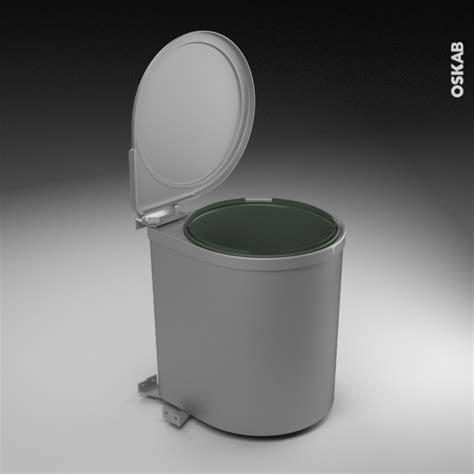 poubelle de porte de cuisine poubelle de porte 13l 1 seau sous évier l28xh35 sokleo oskab