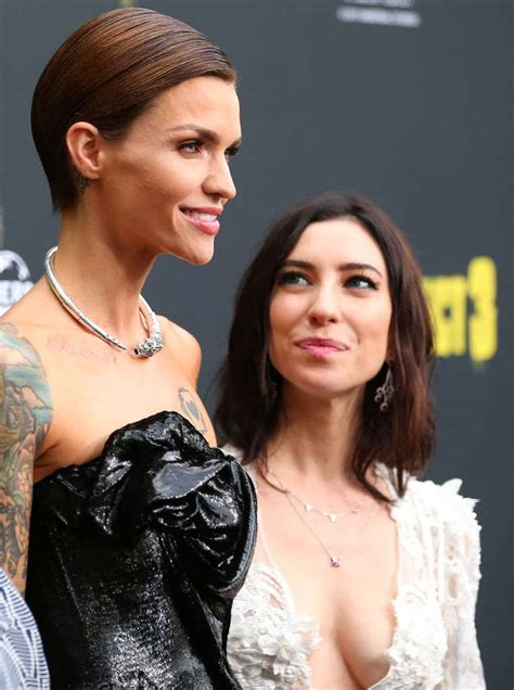ruby rose jess origliasso tattoo fans are convinced ruby rose and jess origliasso broke up