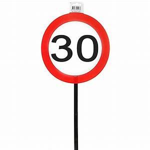 30 Dinge Zum 30 Geburtstag : schild 30 mit stab zum 30 geburtstag ~ Sanjose-hotels-ca.com Haus und Dekorationen