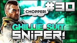 "CoD MW2: CHOPPER GUNNER! - ""Ghillie Suit SNiPER!"" #30 ..."