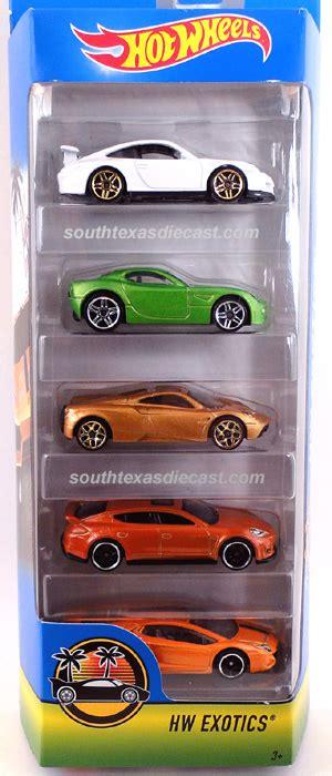 hw exotics  pack model vehicle sets hobbydb