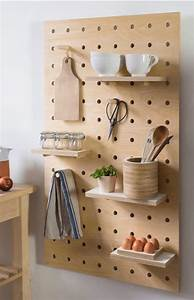 Pegboard, With, Shelves, And, Pegs, -, Birch, Plywood