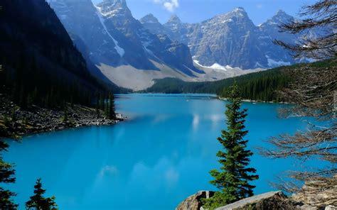 Jezioro, Góry, Lasy, Kanada