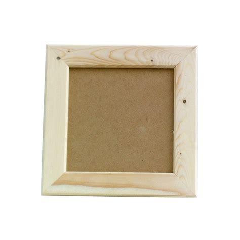 cadre bois 29x29 avec vitre maison pratic boutique