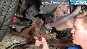 How To Install Replace Lower Engine Mount Isolator