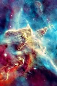 Gas Pillar Carina Nebula