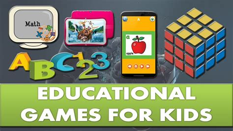 educational games  kids youtube