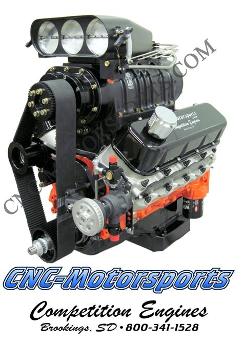 bb chevy     helix blown alcohol engine  hp
