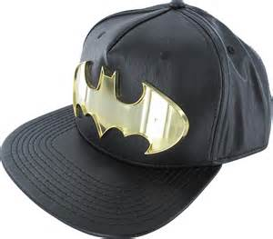 Batman Hat Metal Logo