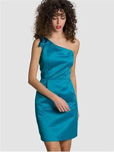 Robe Demoiselle D Honneur Bleu : robe demoiselle d 39 honneur en satin sofia 39 s dream ~ Melissatoandfro.com Idées de Décoration
