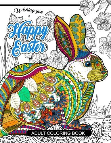 cheapest copy of happy easter adult coloring book rabbit