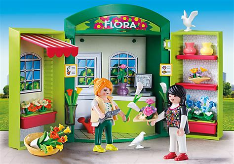 playmobil set 5639 usa play box flower shop klickypedia