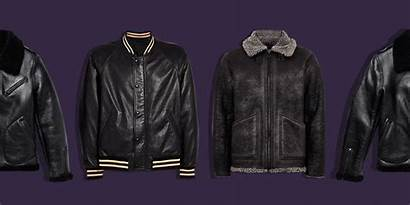 Leather Mens Jackets Crop