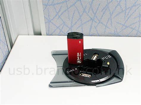 usb desk l in desk usb 4 port hub