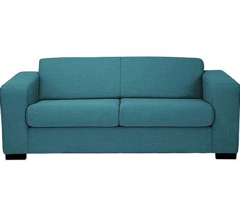 Teal Living Room Furniture by Buy Hygena New Ava 2 Seater Fabric Sofa Bed Teal At