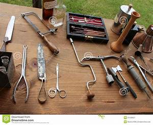 Typical Medical Instruments Used During Civil War Re ...