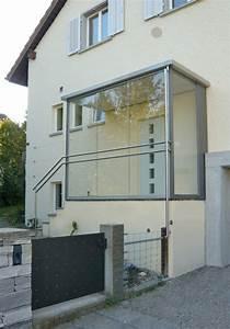 Windfang Hauseingang Aus Glas : windfang referenzen joos metall stahlbau ~ Markanthonyermac.com Haus und Dekorationen