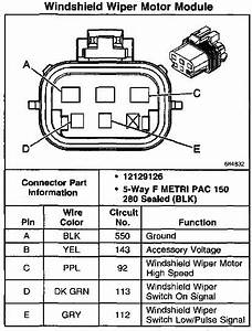 Wiring Diagram  34 Gm Wiper Motor Wiring Diagram