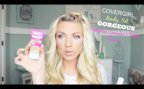 New Covergirl Ready Set Gorgeous Foundation, Concealer