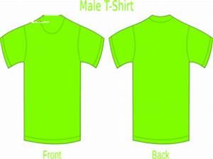 Neon Green T shirt Clip Art at Clker vector clip art