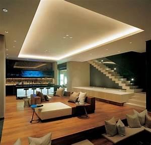 Wohnzimmer Mit Bar : die besten 17 ideen zu led beleuchtung wohnzimmer auf pinterest beleuchtung decke wohnwand ~ Michelbontemps.com Haus und Dekorationen