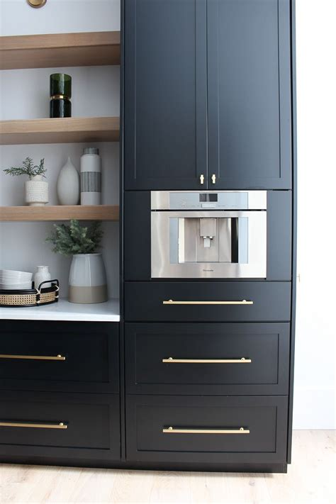 Black Kitchen Pantry by The Forest Modern Our Chic Black Butler S Pantry
