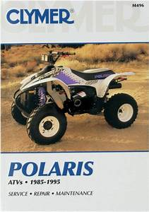 Clymer M496 Atv  Utv Manuals Service Book Guide