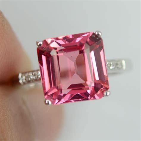 any other padparadscha sapphire rings out there weddingbee