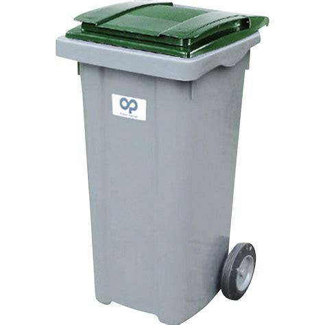 poubelle de rue 240 l h 107 5 x l 58 x p 72 5 cm leroy merlin