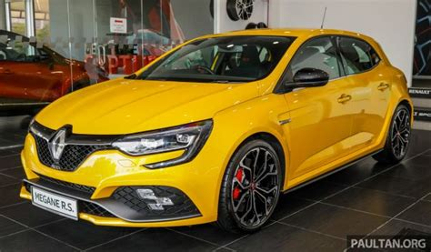Rs Dual Clutch by Renault Megane Rs 280 Cup Officially Launched In Malaysia